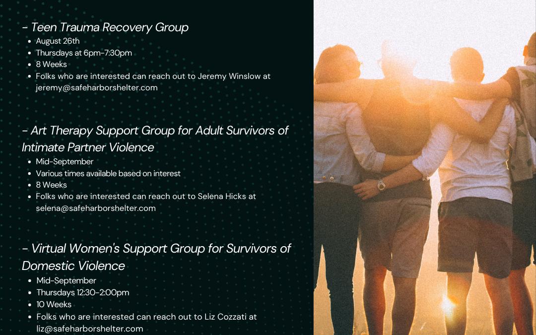 Healing Through Support Groups